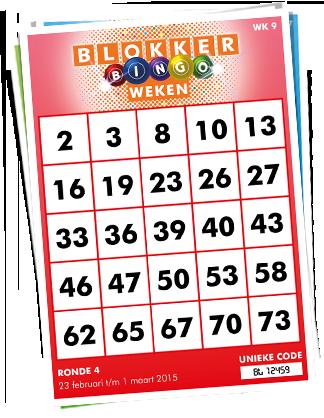 Blokker Bingo Weken - activeer je kaart en win prijzen!