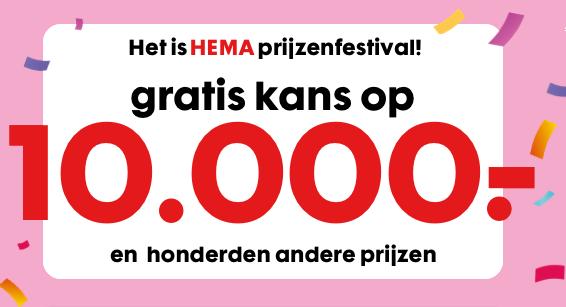 hema prijzenfestival