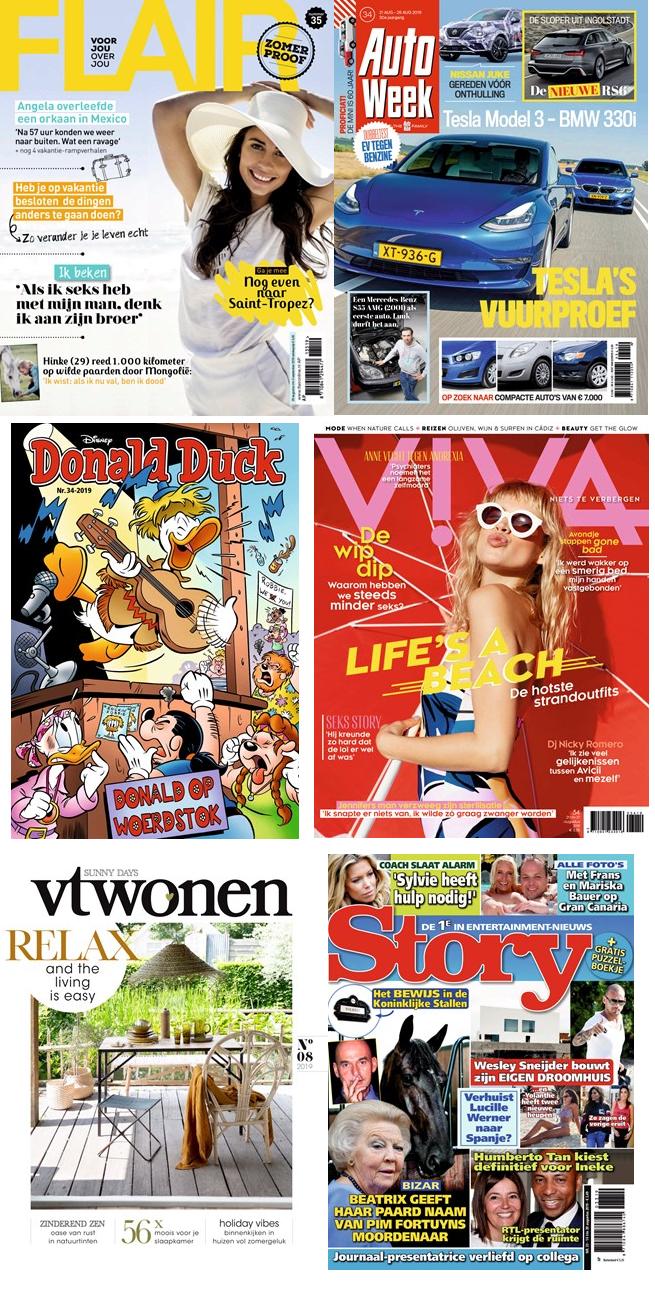 magazines voor slechts 10 euro!